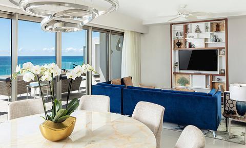 Suite de Tres Recámaras Frente al Mar