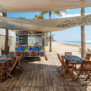 Beach Deck's Raw Bar Garza Blanca Los Cabos