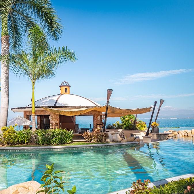 Aquazul Beach Bar & Lounge Garza Blanca Puerto Vallarta
