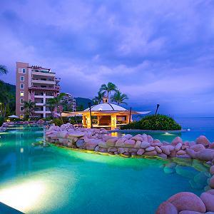 Aquazul Restaurant & Bar Lounge Garza Blanca Puerto Vallarta
