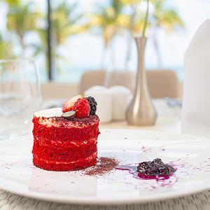 Blanca Blue Restaurante Gourmet en Cancún Garza Blanca Resort & Spa