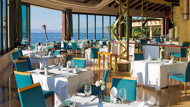 Restaurante Blanca Blue Garza Blanca Preserve Resort & Spa