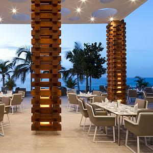 Blanca Blue Restaurant View