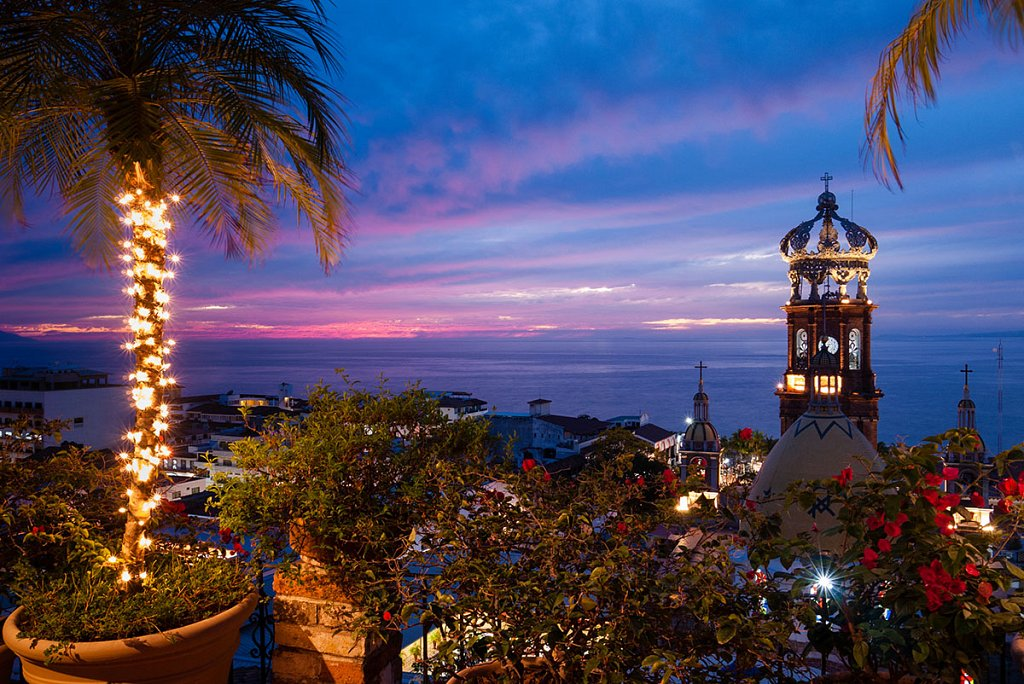 The Famous Church in Downtown Puerto Vallarta