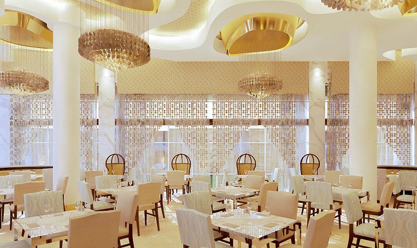 Blanca blue restaurant garza blanca los cabos