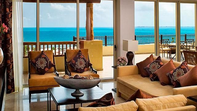 Three bedroom penthouse Villa Palmar Cancún