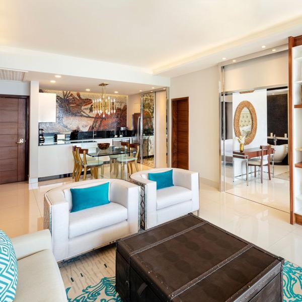 Two Bedroom suite at Garza Blanca Los Cabos
