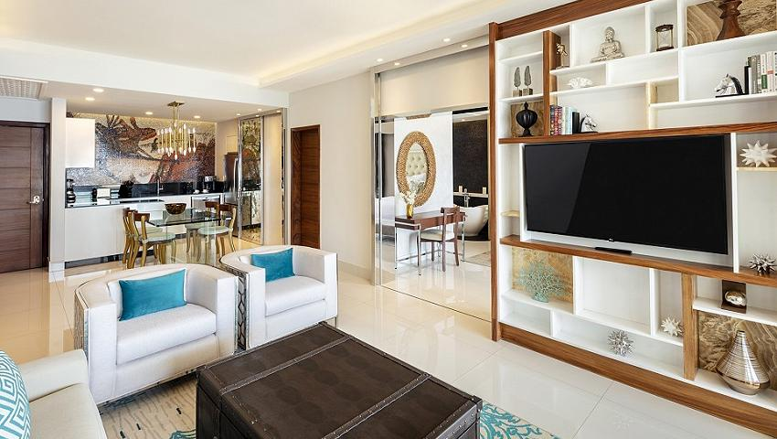 Two Bedroom suite at Garza Blanca Los Cabos
