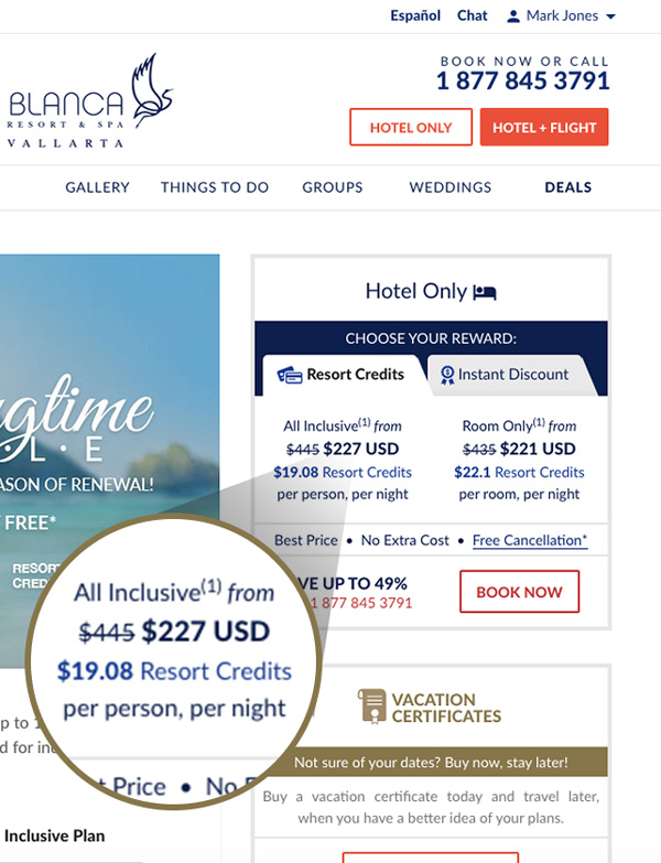 Tafer Rewards Tafer Hotels Resorts