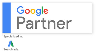 Google Partner - Specialized in Search Ads