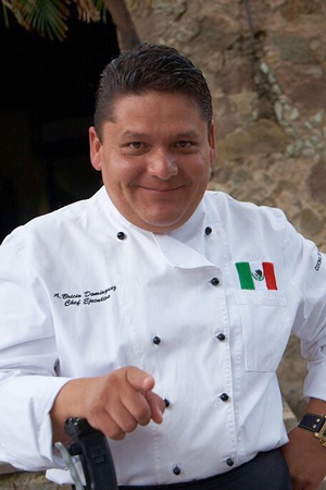 Chef Bricio Dominguez